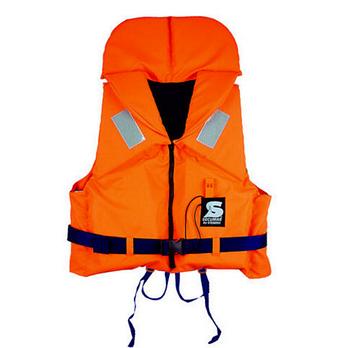 Спасательный жилет Secumar Bravo, 40-50 кг, Класс: EN395, Плавучесть: 100N, Цвет: Оранжево-синий, (11674)