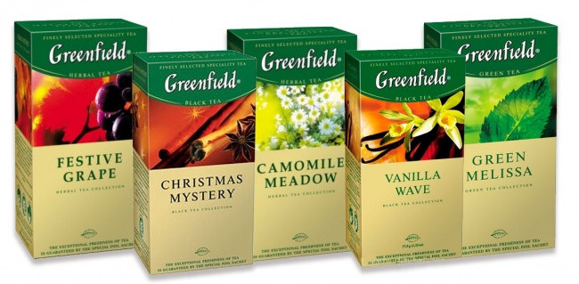 Greenfield Flying Dragon, green tea - 25пак