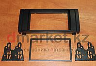 Переходная рамка BMW E38/E39/E53, 2DIN, пластик, черная, фото 1