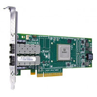 QLE2672-CK Qlogic 16Gbps dual-port Fibre Channel-to-PCI Express adapter, multi-mode optic