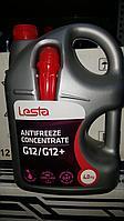 Антифриз концентрат Lesta (красный) G12/G12+  4 кг