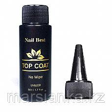 Топ Nail Best Top Coat (без липкого слоя), 50мл.