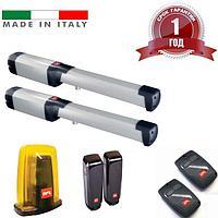 Автоматика для распашных ворот PHOBOS KIT BT A40 FRA BFT Италия, створка до 4м вес до 500 кг., фото 1