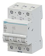 Автоматический выключатель LTS-0,5D-3 - LTS-63D-3 OEZ:42113 - OEZ:42128