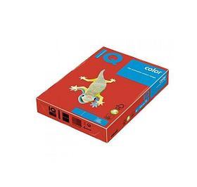 """Бумага """"IQ Color"""" Intensive CO44, кораллово-красный,формат А4, пл-ть 160 гр/м2, 250 лист/пач. 400976"""