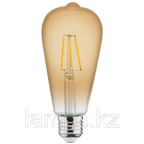 Светодиодная Лампа Эдисона декоративная RUSTIC VINTAGE-4 4W 2200K