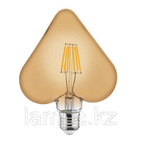 Светодиодная Лампа Эдисона декоративная RUSTIC HEART-6 6W 2200K