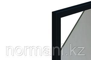 Профиль рамочный узкий FP.03_19x20мм, L=3000мм, отделка черная