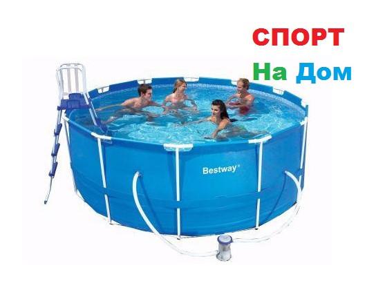 Каркасный бассейн Bestway 56420 (366 х 122 см, на 10250 литров) доставка