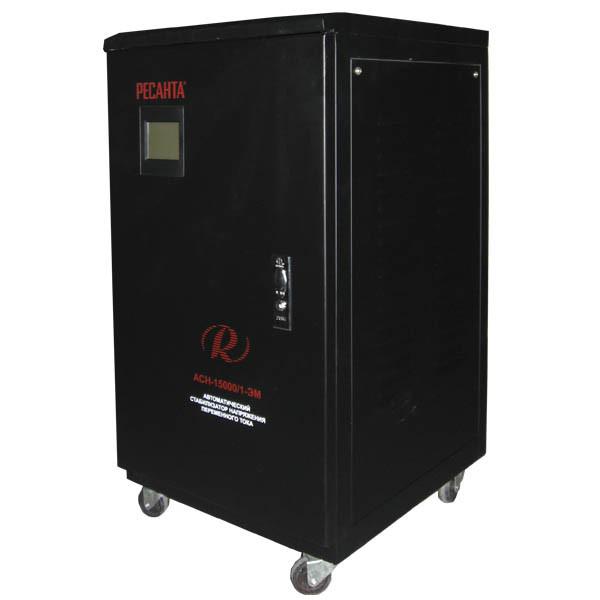Стабилизатор напряжения РЕСАНТА АСН-15000/1-ЭМ 15 кВт Однофазный электромеханический