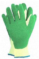 Трикотажные перчатки с латексным покрытием