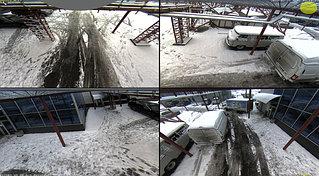 IP камера Mobotix с разрешением 3 МП, с объективом Hemispheric. Одна камера Mobotix Q24D дает возможность заменить 4 камеры