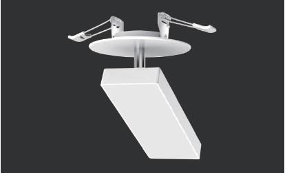 Светодиодный светильник DOWN LIGHT-B 15W встраиваемый,матовый,белый