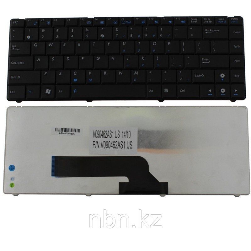 Клавиатура Asus K40C / K40E / K40IL / K40IN / P80 / P81 / P81IJ / F82 ENG