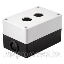 Пост кноп (корпус) КП-102(2мест.бел.)