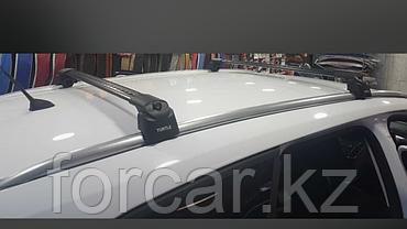 Багажные поперечины для интегрированных рейлингов Turtle AIR2 106 см. серебристые, фото 3