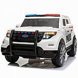 Детский электромобиль Ford Полиция, фото 3