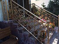 Перила на уличную лестницу