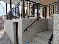 Ограждения на террасу и уличную лестницу