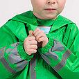 Дождевик детский  зелёный, фото 3