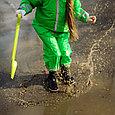Дождевик детский  зелёный, фото 5