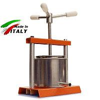 Соковыжималка OMAC 360 Torchietto итальянский домашний ручной винтовой пресс для отжима сока, сыра, масла, фото 1