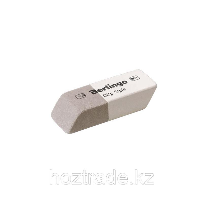 Ластик Berlingo City Style скошенный, натуральный каучук, 42*14*8 мм