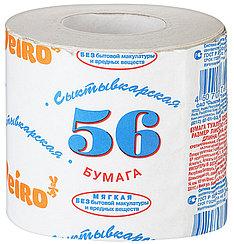 """Белая туалетная бумага """"Сыктывкар 56"""" Казахстан"""