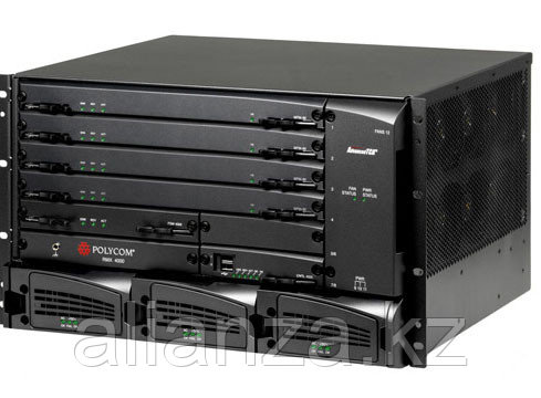 RMX 4000 AC including all required  FRUs (w\o media cards) for IP only use. ORDER MUST INCLUDE MPM+ MODULE(S) AND LICENSES.