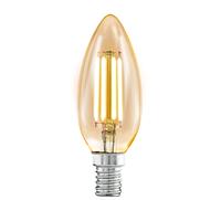 "LED Лампа E14 8W Филаментная ""Свеча"" 2700-3000K"