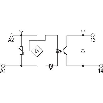 Твердотельные реле TOP 230VAC/48VDC 0,5A, фото 2