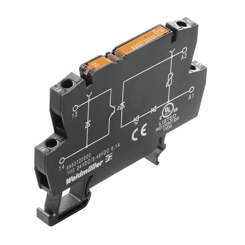 Твердотельные реле TOS 220VDC/230VAC 0,1A