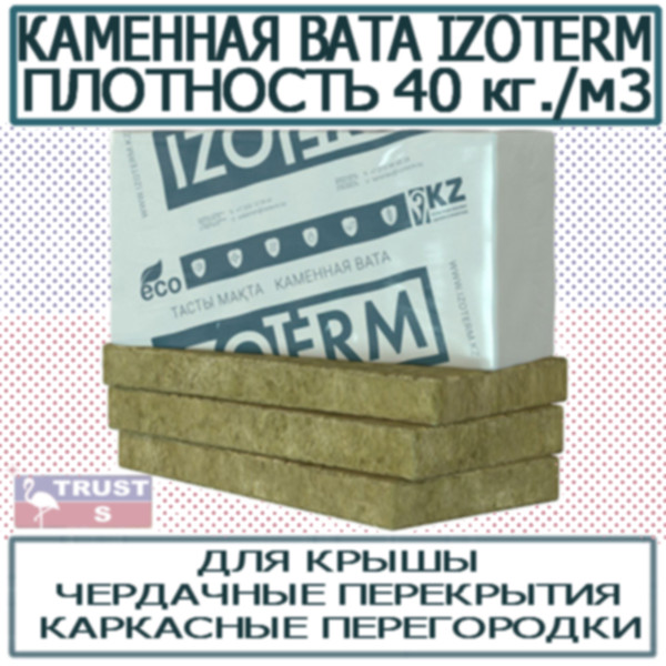 Минплита Каменная вата Изотерм IZOTERM