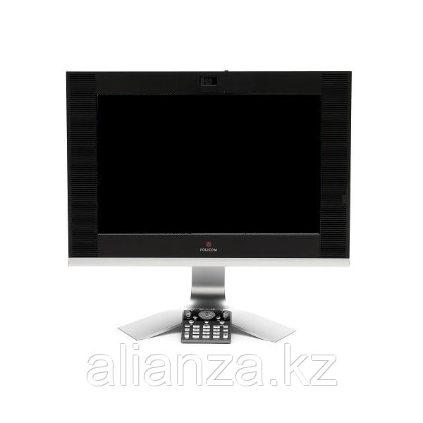 """HDX 4002 Executive Desktop System, includes: HD codec, P+C, People On Content licenses, 20"""" Widescreen Display, Eur pwr cord, Included cables:"""