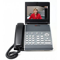 VVX 1500 D dual stack (SIP&H.323) Business Media Phone with factory disabled media encryption for Russia. Does not include AC power supply (PoE).
