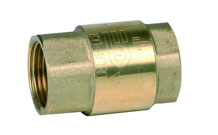Клапан обратный муфтовый DN50 PN16 Genebre Испания