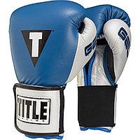 Боксерские перчатки Title Classic Pro Style Training  кожазам, фото 1