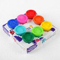 Набор детский для лепки 'Тесто-пластилин', 8 цветов по 50 г