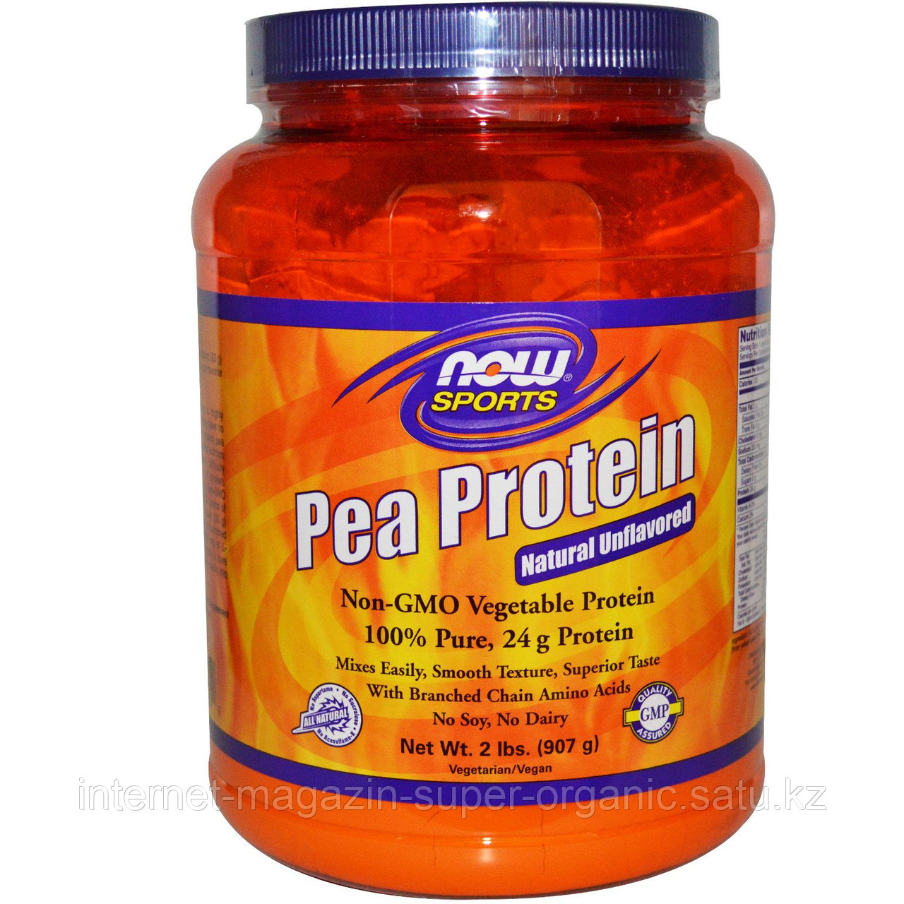 Протеин гороха, 907 г, (Pea protein), Now Foods