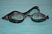 Очки для плавания в чехле Advanced swimming goggles, черные
