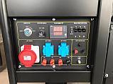 Бензиновый генератор Mateus 12GFE3, (12 кВт), 380В, фото 3