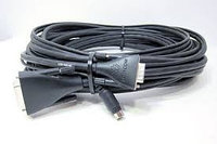 Cable, EagleEye 1080 camera cable.  HDCI(M) to VGA(M) and 8-pin mini-DIN plug(M). 10M. Connects EagleEye 1080 camera to HDX series codec as main or