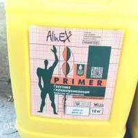 Грунтовка AlinEX PRIMER 10 кг. (для стен и потолков, полимерная, морозостойкая)