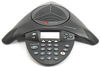 Аналоговый конференц-телефон Polycom SoundStation2 (expandable, w/display) (2200-16200-122), фото 1