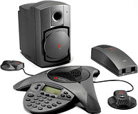 Аналоговый конференц-телефон Polycom SoundStation VTX 1000(with 2 mics, 1 subwoofer)(2200-07142-122)
