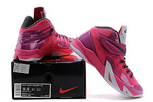 Кроссовки Nike LeBron Zoom Soldier 8 Systems сиреневые, фото 3