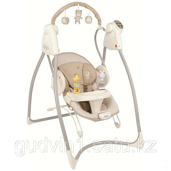 Электрокачеля Graco 2 в 1 SWING & BOUNCE Benny and Bell