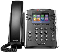 Polycom VVX 400 (factory disabled media encryption), фото 1