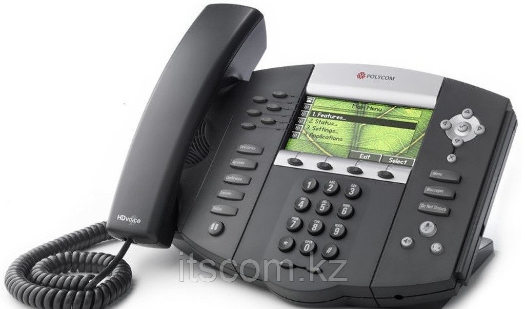 IP-телефон Polycom SoundPoint IP 670 - Ай Ти Эс Ком в Алматы