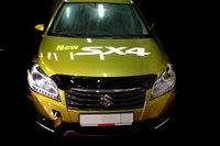 Мухобойка/дефлектор капота  на Suzuki SX4 2013-